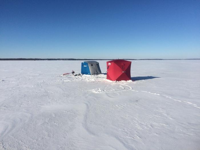 Big Pine Lake Fishing Report (January 1,2016)